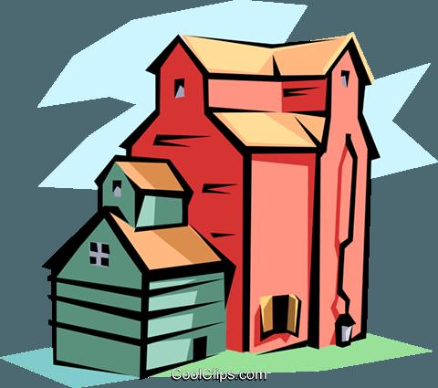Grain Elevator Cliparts | Free download best Grain ...