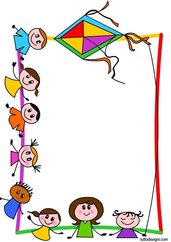 595x842 Resultado De Imagen Para Cornicetta Bambini Marcos Lindos