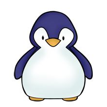 220x220 26 Best Pinguin Images Drawings, Dolls And Fabric