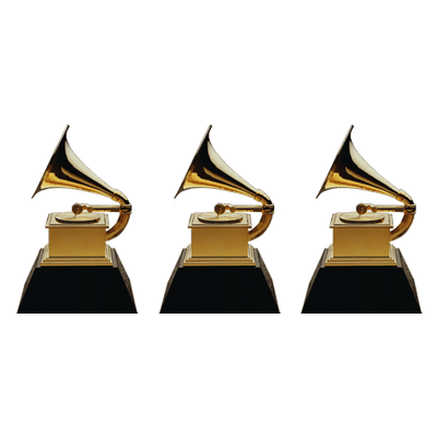 400x400 Grammy Awards Trio Transparent Png