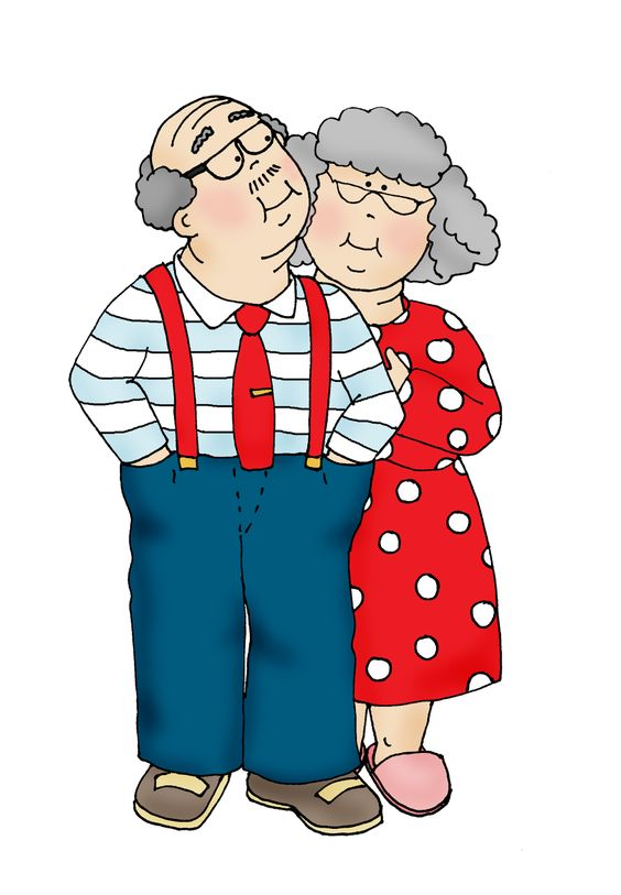 564x813 Grandparents Clipart Head To, Digi Stamps And Stamps