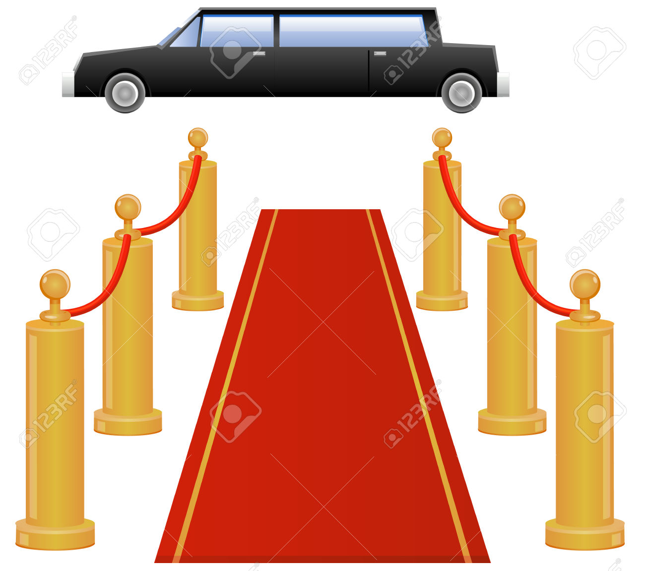 1300x1152 Red Carpet Clipart Car