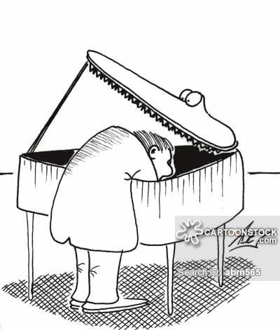400x471 Baby Grand Piano Cartoons And Comics
