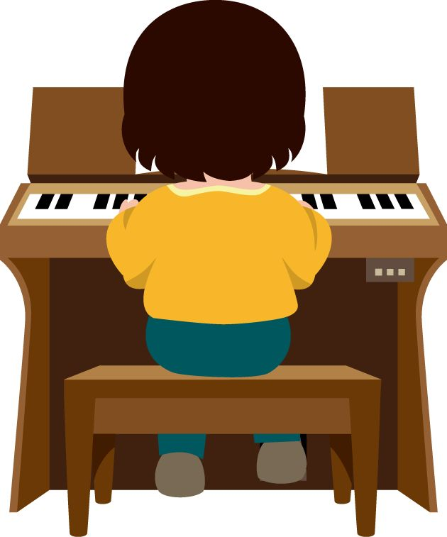 Grand Piano Clipart