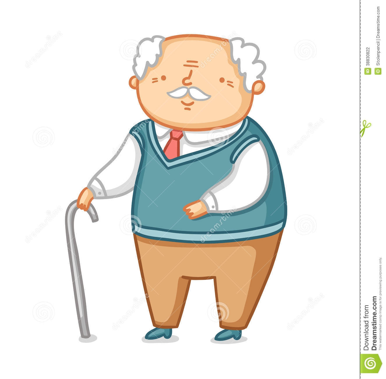 1325x1300 Grandfather Clipart