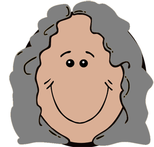 300x286 Head Clipart Grandfather