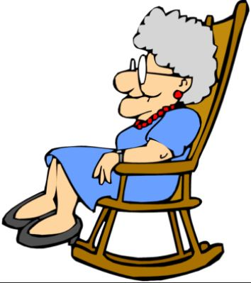 354x399 Sleeping Clipart Grandmother