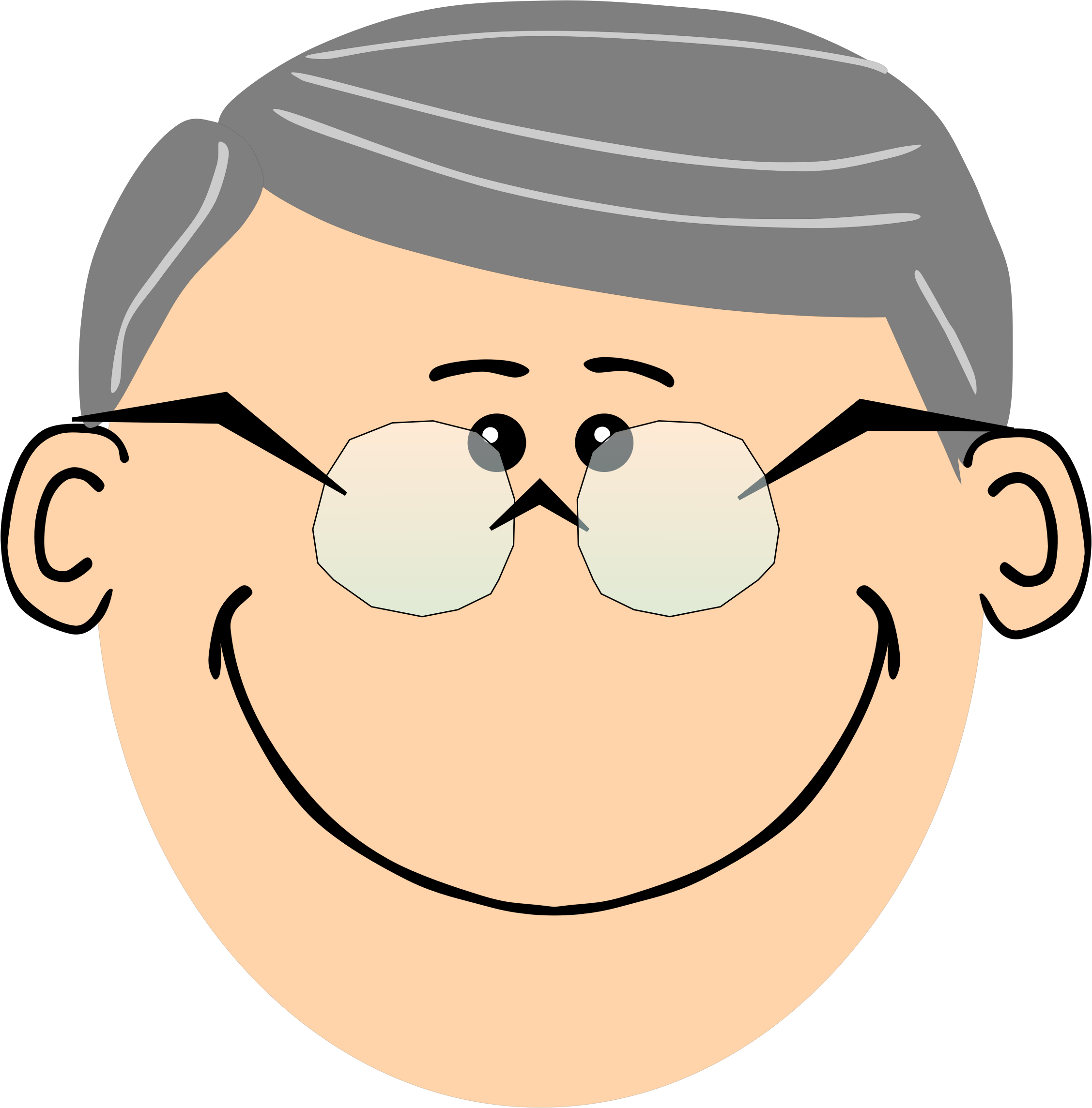2255x2289 Brown Clipart Grandpa