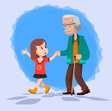 372x368 Grandfather Free Vector Download (18 Free Vector) For Commercial