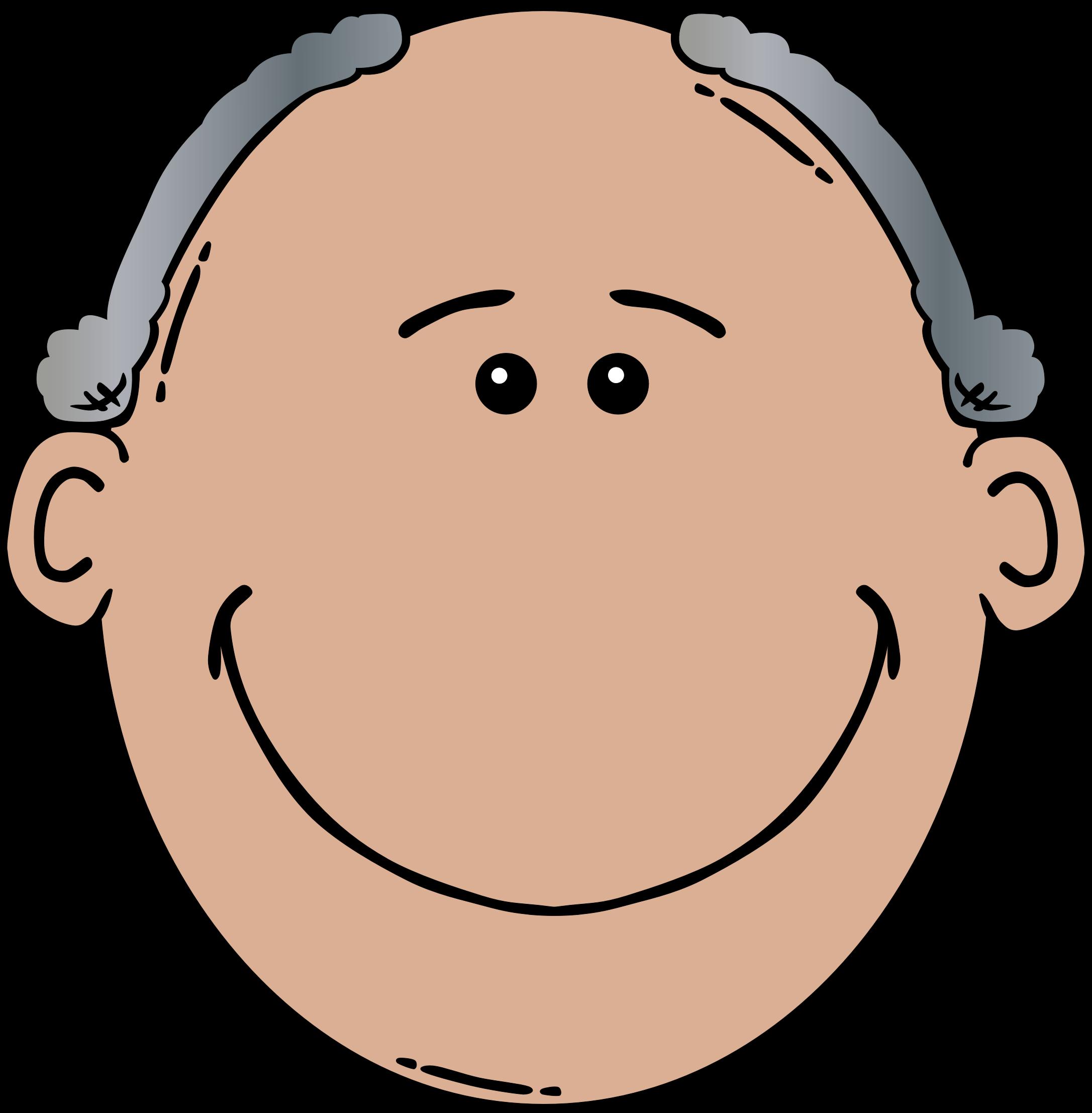 2173x2214 Old Man Face Clip Art Clipartfest