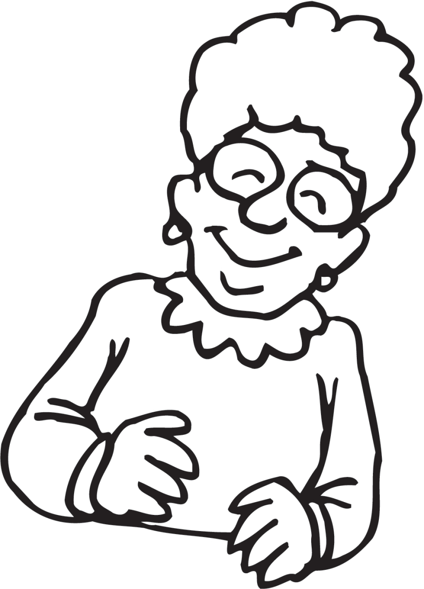 grandma clipart black and white free download best grandma clipart rh clipartmag com
