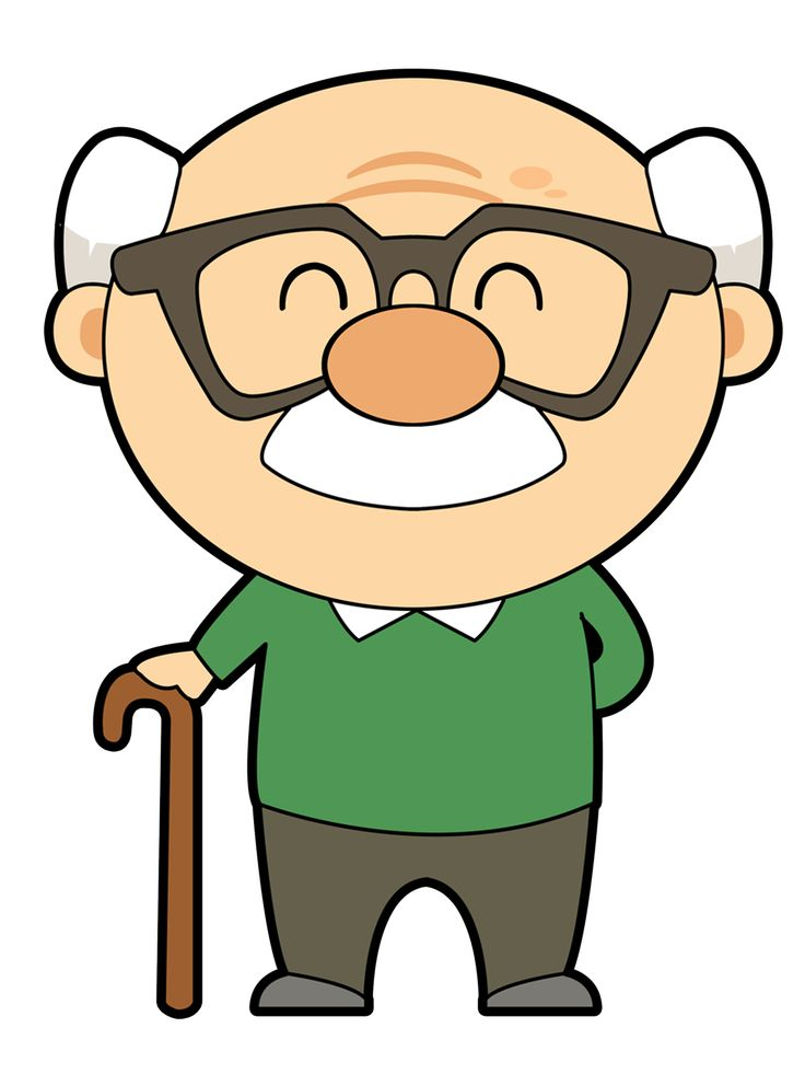 Grandmother And Grandfather Clipart