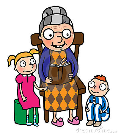 397x450 Grandmother And Child Clipart