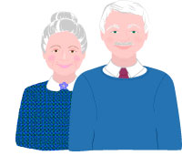 200x182 Grandparents Day Clip Art Grandma and Grandpa Graphics (free