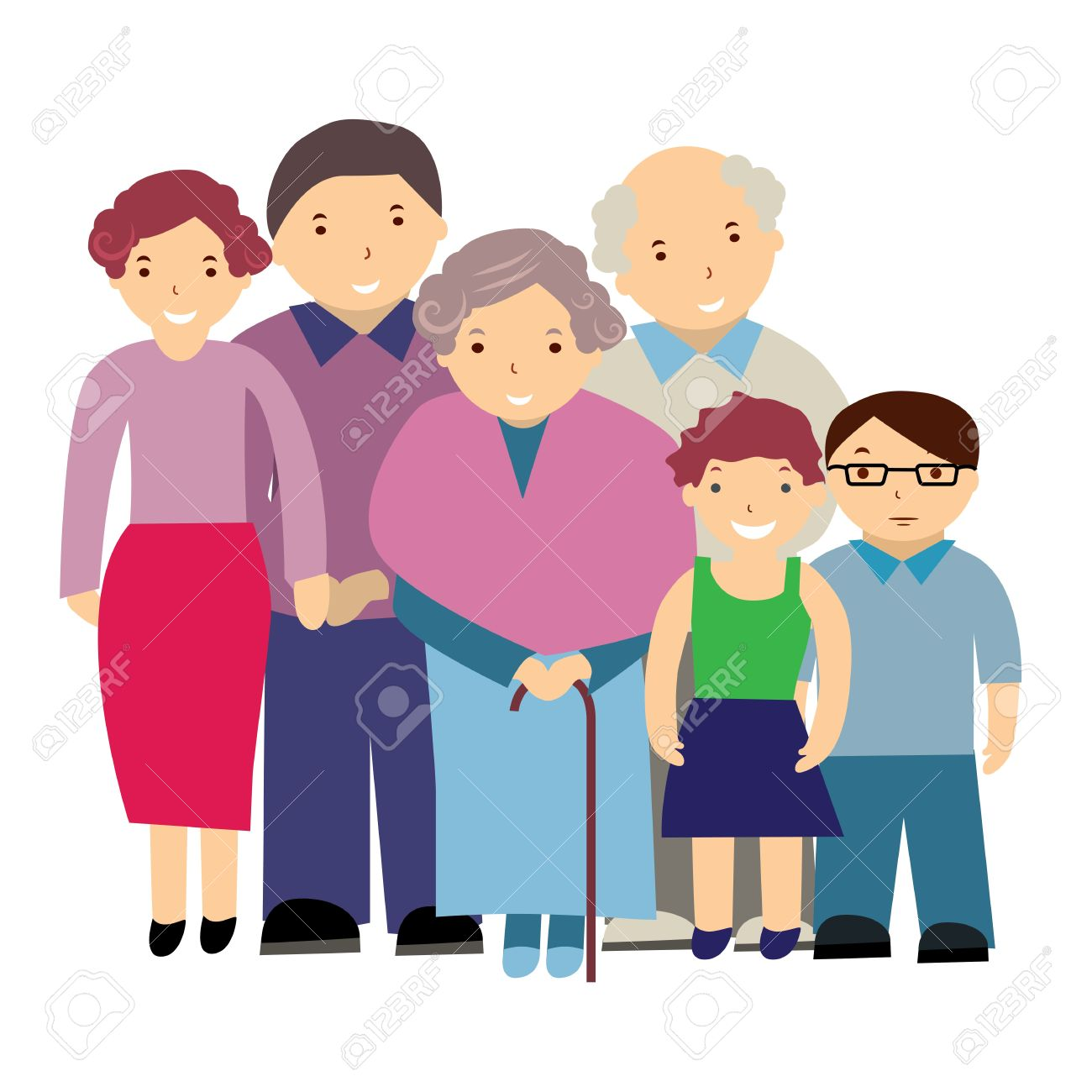 1300x1300 Illustration grandparents clipart, explore pictures
