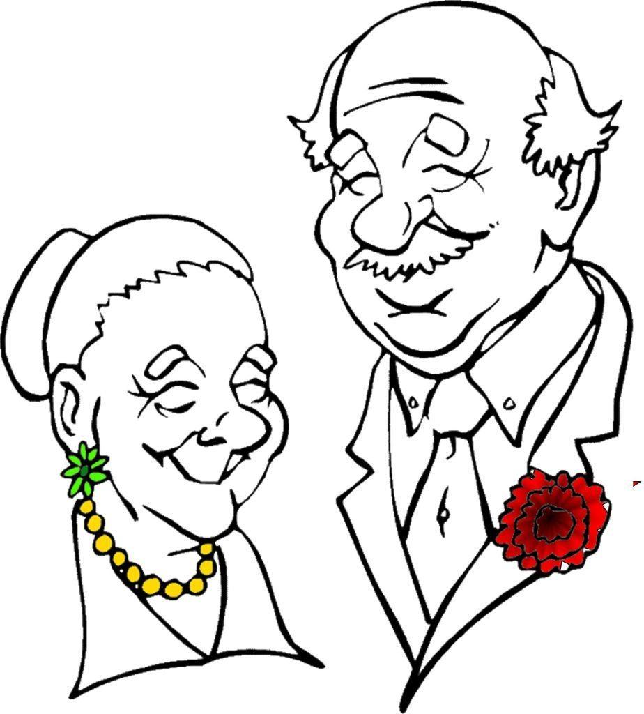 924x1024 Black Grandparents Raising Grandparents Clip Art Black And White