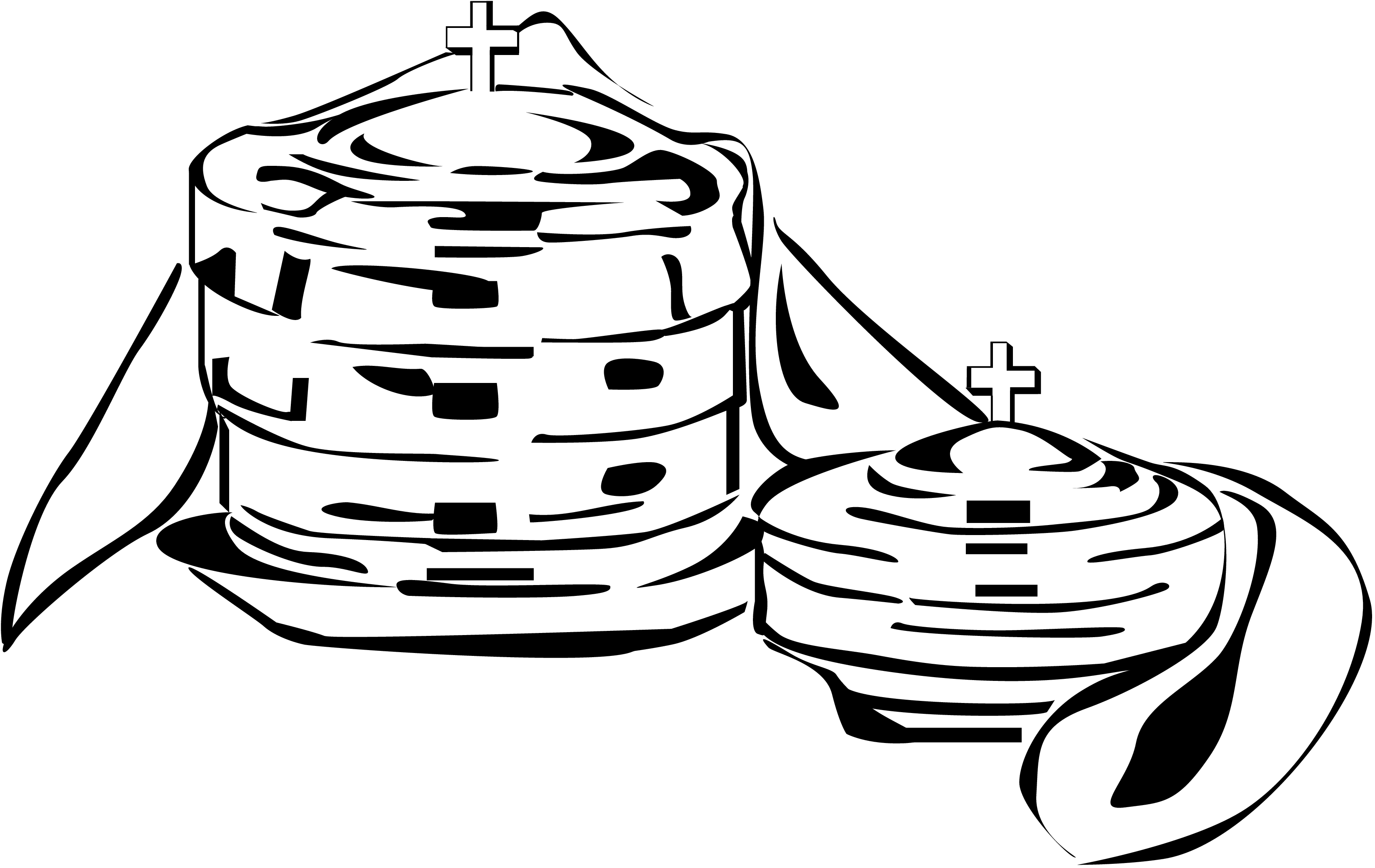 3300x2083 Communion Black And White Clipart