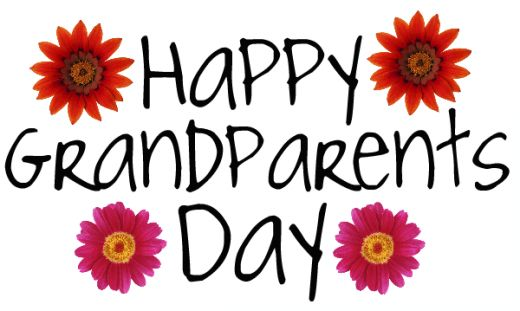 520x311 Free National Grandparents Day Cards, Wrapping Paper And Clip Art
