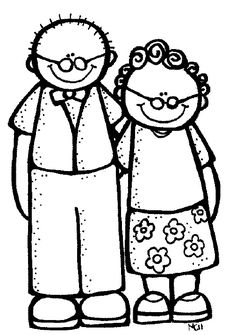 236x335 Grandparents Day Coloring Page