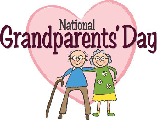 600x459 National Grandparents Day Couple And Heart In Background