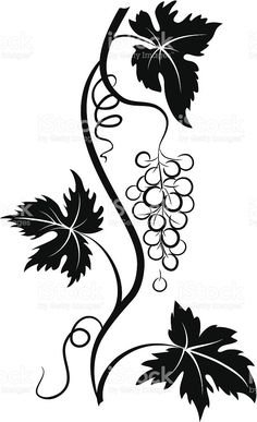 236x387 Grape 2 Stencil