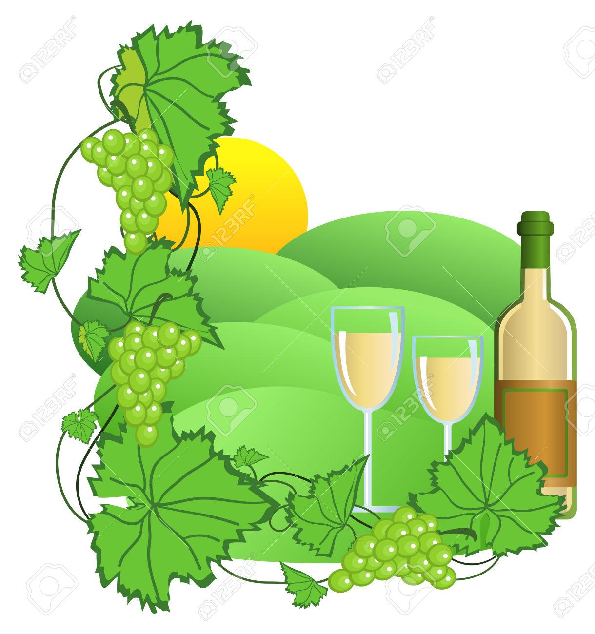 1220x1300 Grape Clipart Leafy Vegetable
