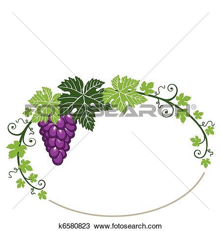 450x470 Vineyard Clipart Grape Leaf