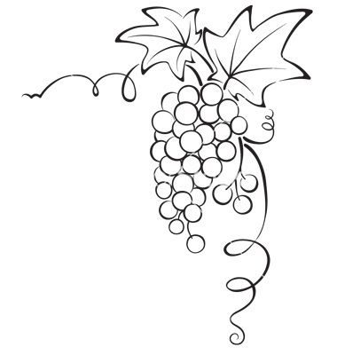 Grapevine Border Cliparts | Free download best Grapevine ...