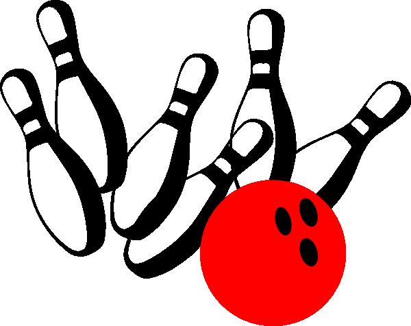 600x475 Bowling Pins Clip Art