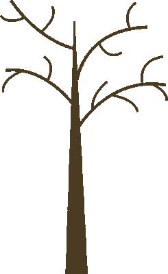 245x400 Dead Tree Clipart Graphic Art