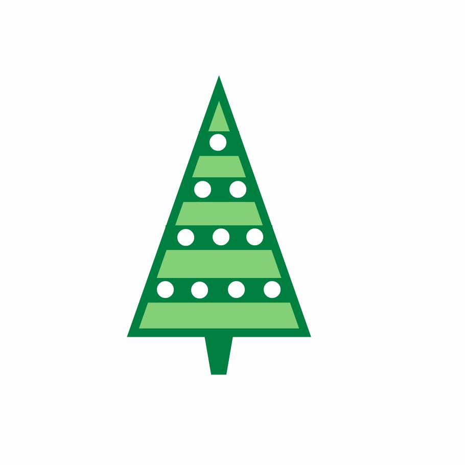 910x910 Free Christmas Clip Art ~ Christmas Trees Graphics