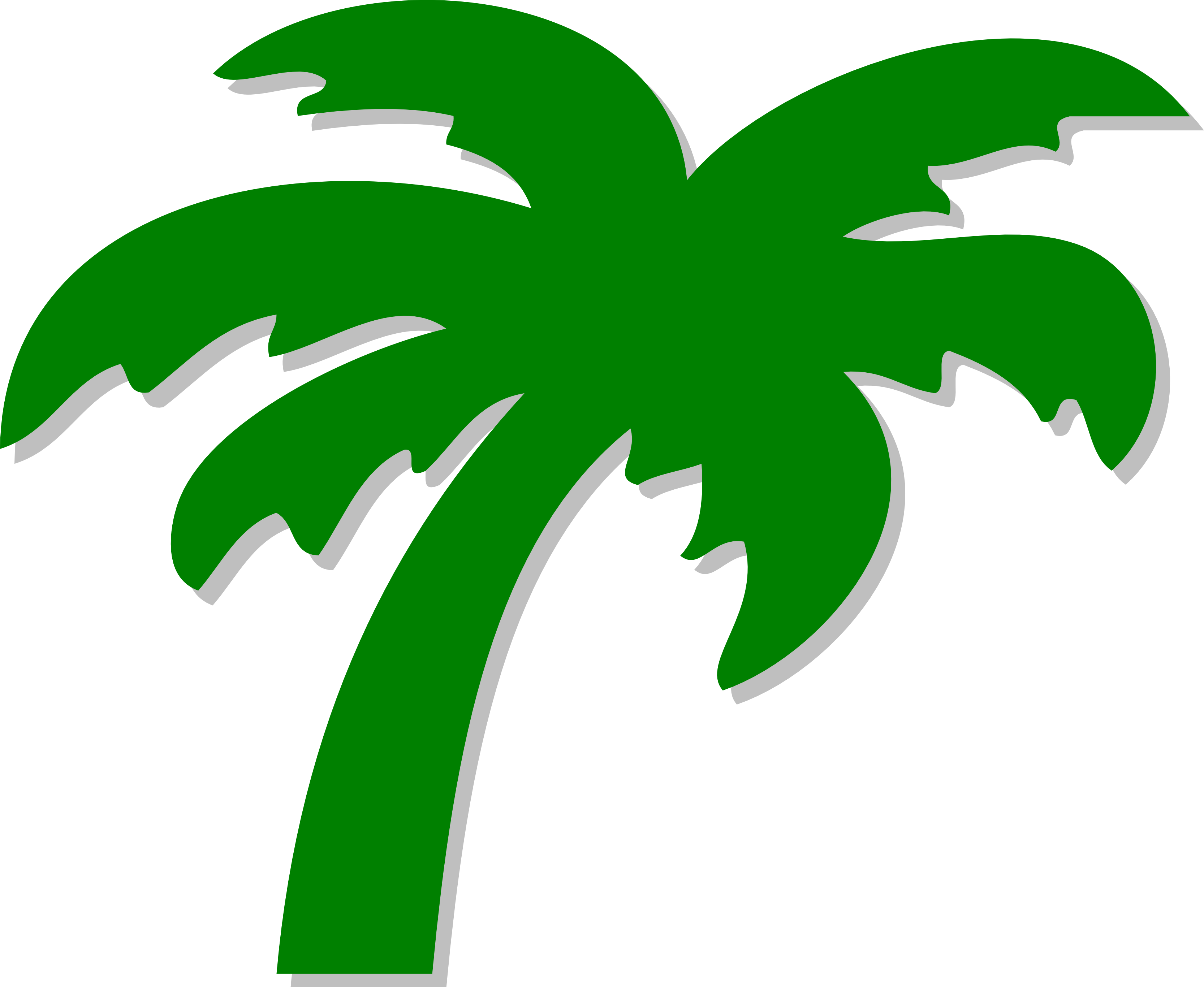 3333x2733 Free Palm Tree Graphic Clipart