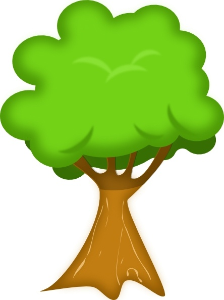444x594 Soft Trees Clip Art Free Vector In Open Office Drawing Svg ( Svg