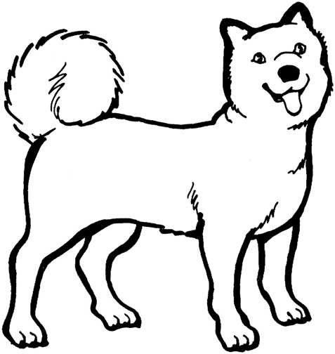 477x504 Dog Clipart Black And White