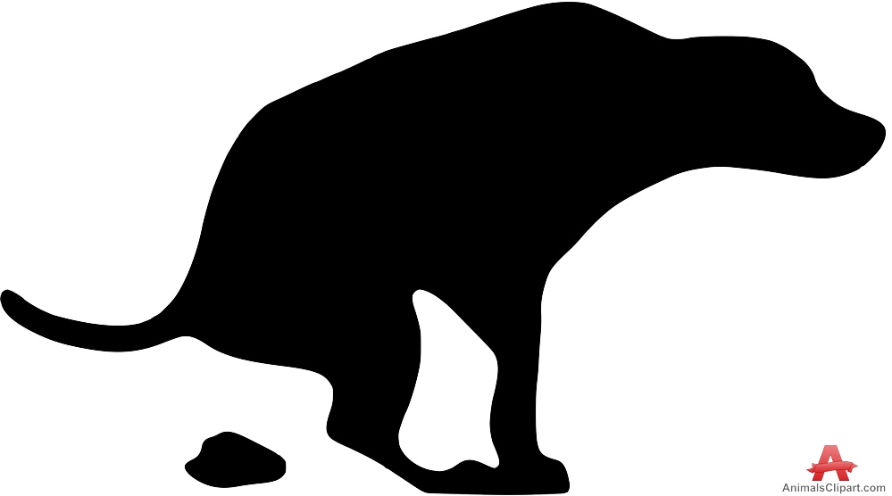 999x556 Dog Pooping Clip Art Clipart