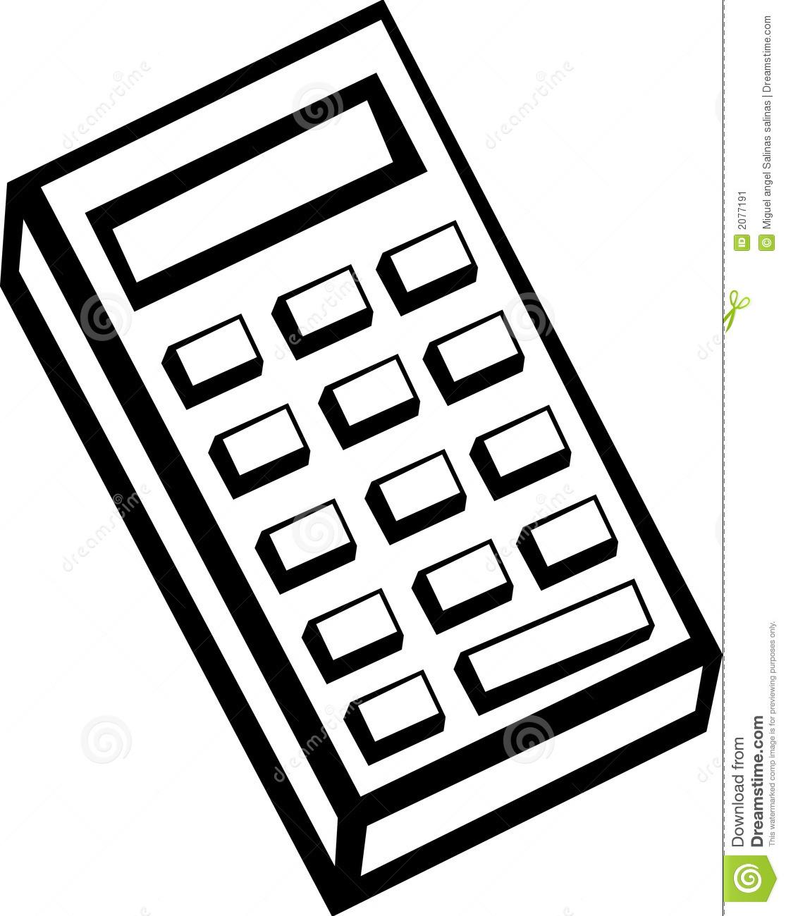1115x1300 Calculator Clipart 23130 Clip Art Graphic Of A Calculator Cartoon