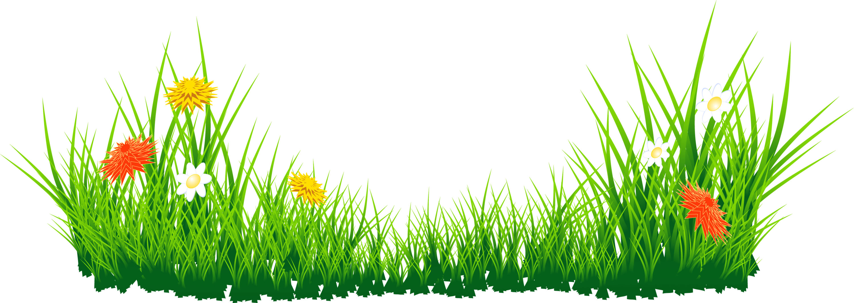 Grass border. Clipart free download best