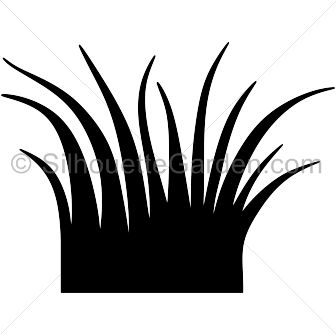 Grass Clipart Black And White