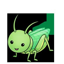 220x220 Grasshopper Fluff Favourites Clip Art, Animal