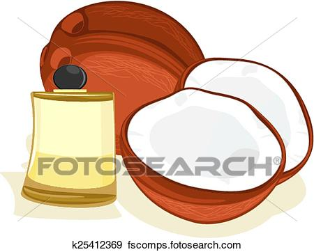 450x362 Coconut Oil Clipart Royalty Free. 483 Coconut Oil Clip Art Vector
