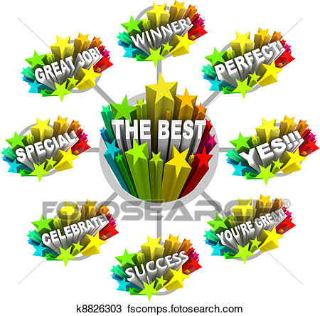 450x444 Stock Photo Of Praise And Appreciation Words For A Great Job