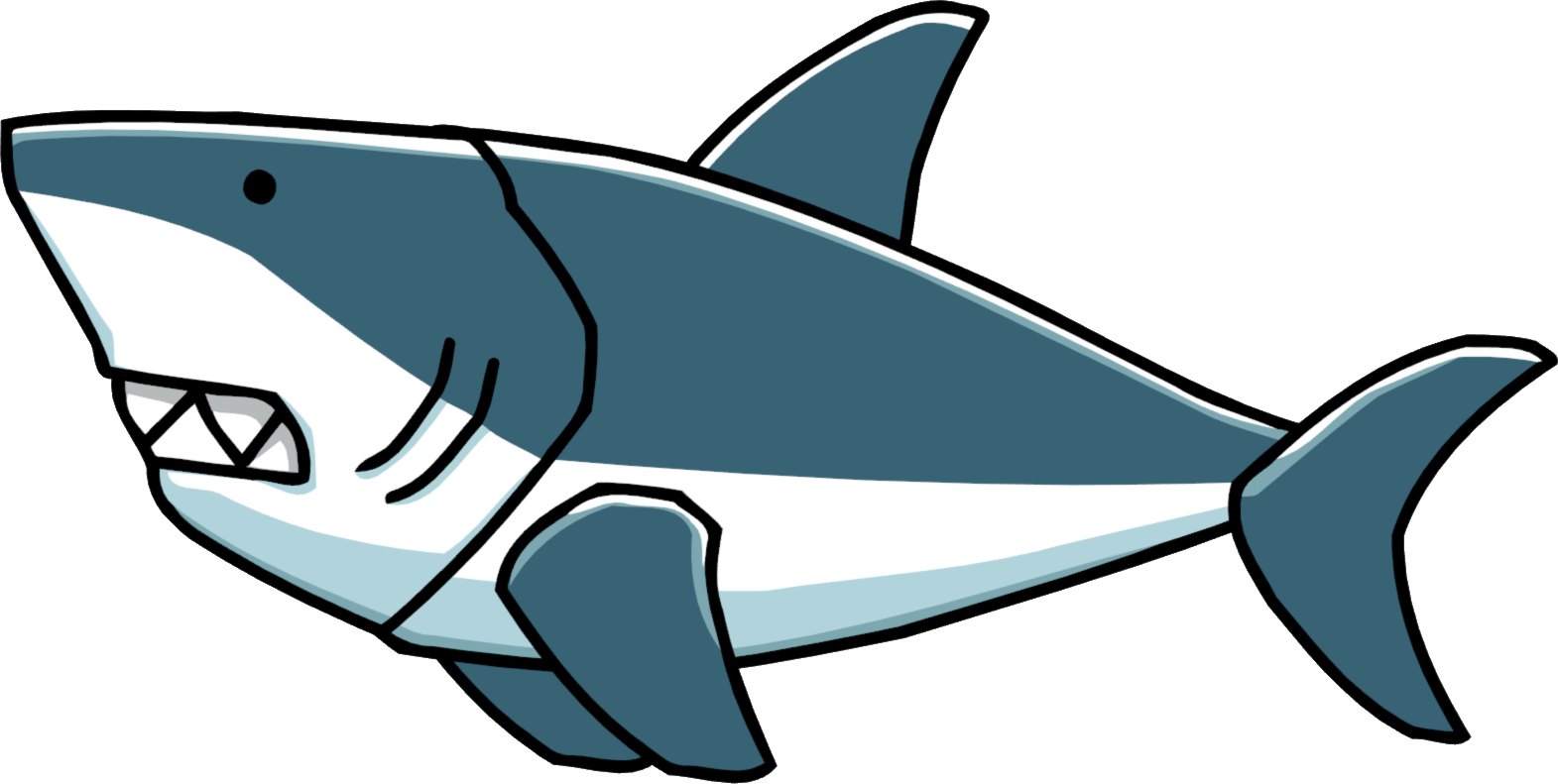 Great White Shark Clipart | Free download on ClipArtMag