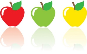 300x187 Apples Clipart Image