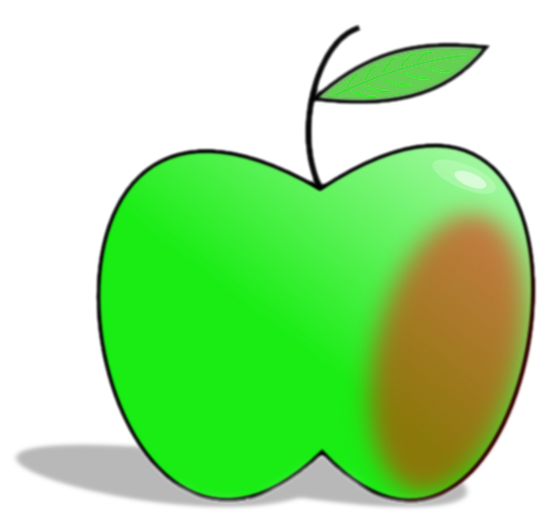 500x473 Free Apple Clipart, 3 Pages Of Public Domain Clip Art