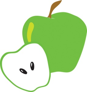 285x300 Free Green Apple Clipart Image 0071 0801 2001 0724 Food Clipart