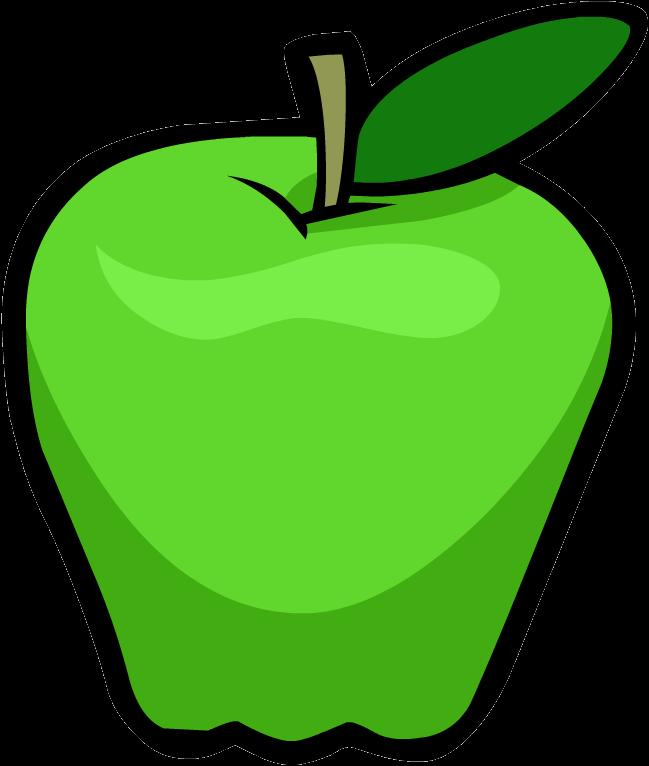 649x766 Green Apple Clipart Kid 3