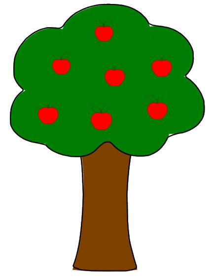 428x568 Apple Tree Clip Art