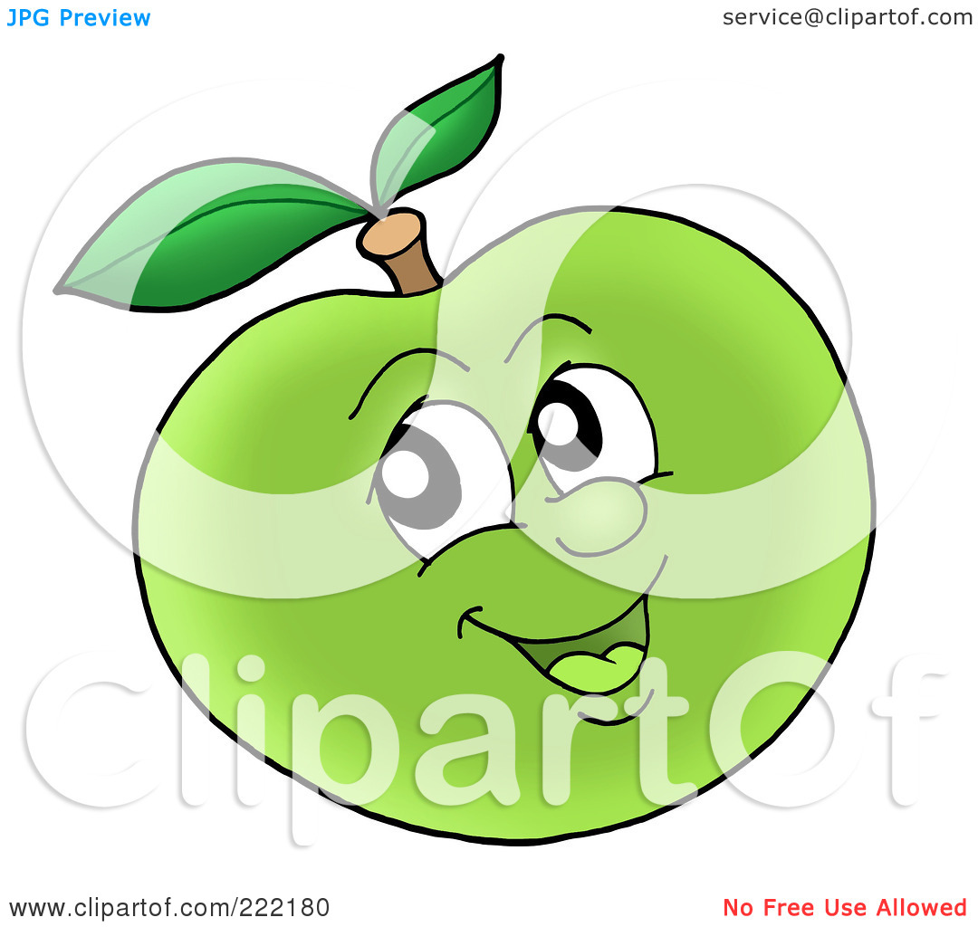 1080x1024 Apple Clipart Smiley Face