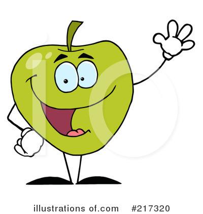 400x420 Green Apple Clipart