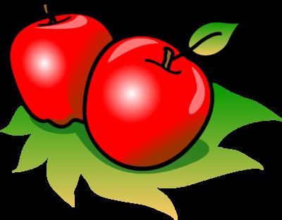 400x313 Image Apples Food Clip Art